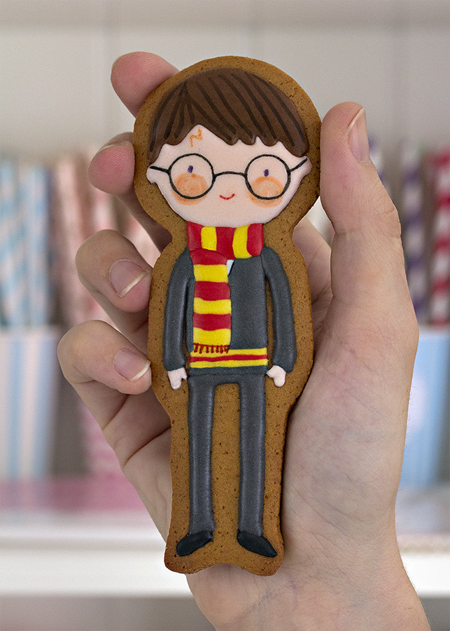 Harry Potter decorated cookie