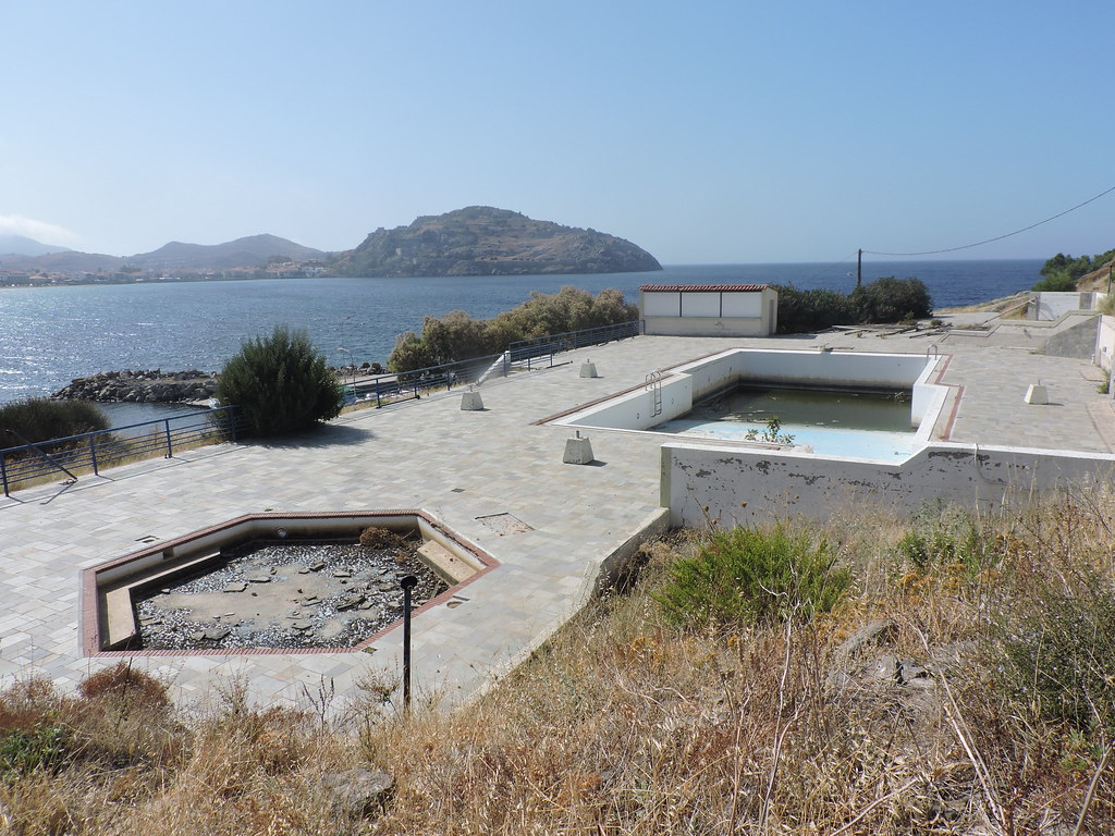Abandoned Swimming Pool Limnos Myrina Ted Potters Flickr