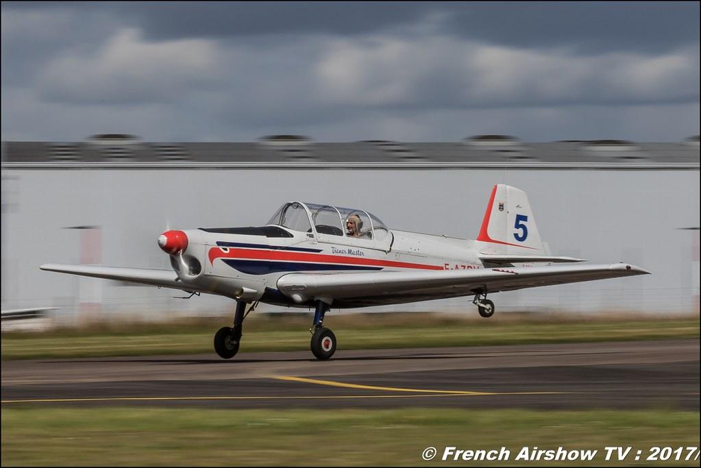 Zlin Z-526 AFS Trener Master - F-AZRV , Legend Air en Limousin 2017 , aérodrome de Saint Junien 2017 , Meeting Aerien 2017