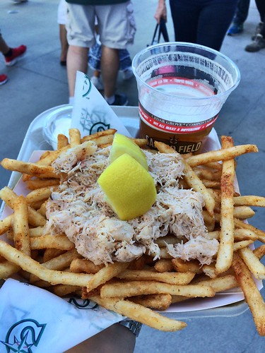 Safeco Field crab fries | by Julie Rubes