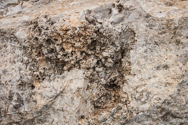Roca de la cima de la Mesa Roldán