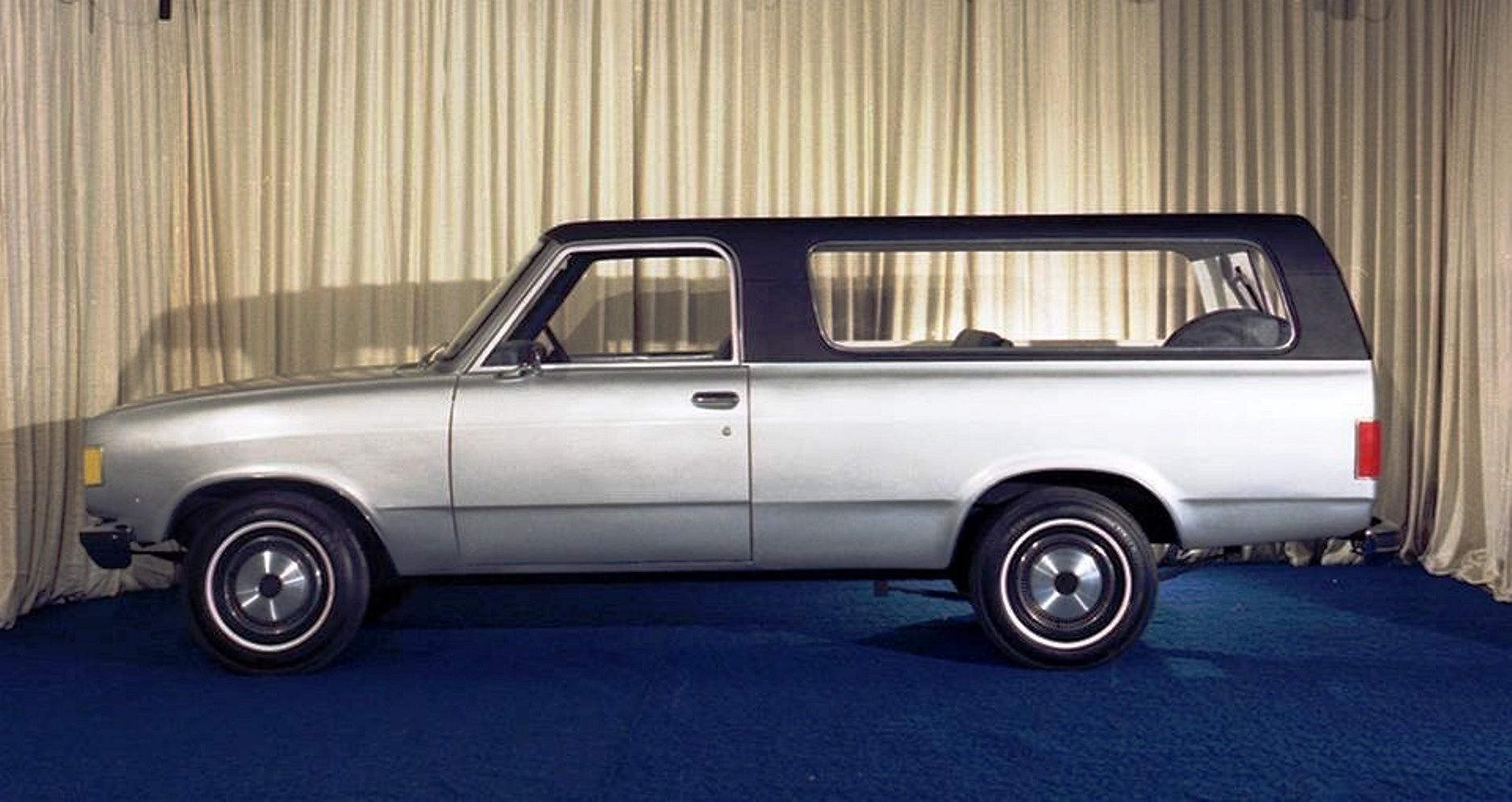 Blazer chevy blazer 2001 : Chevrolet Blazer Protorypes