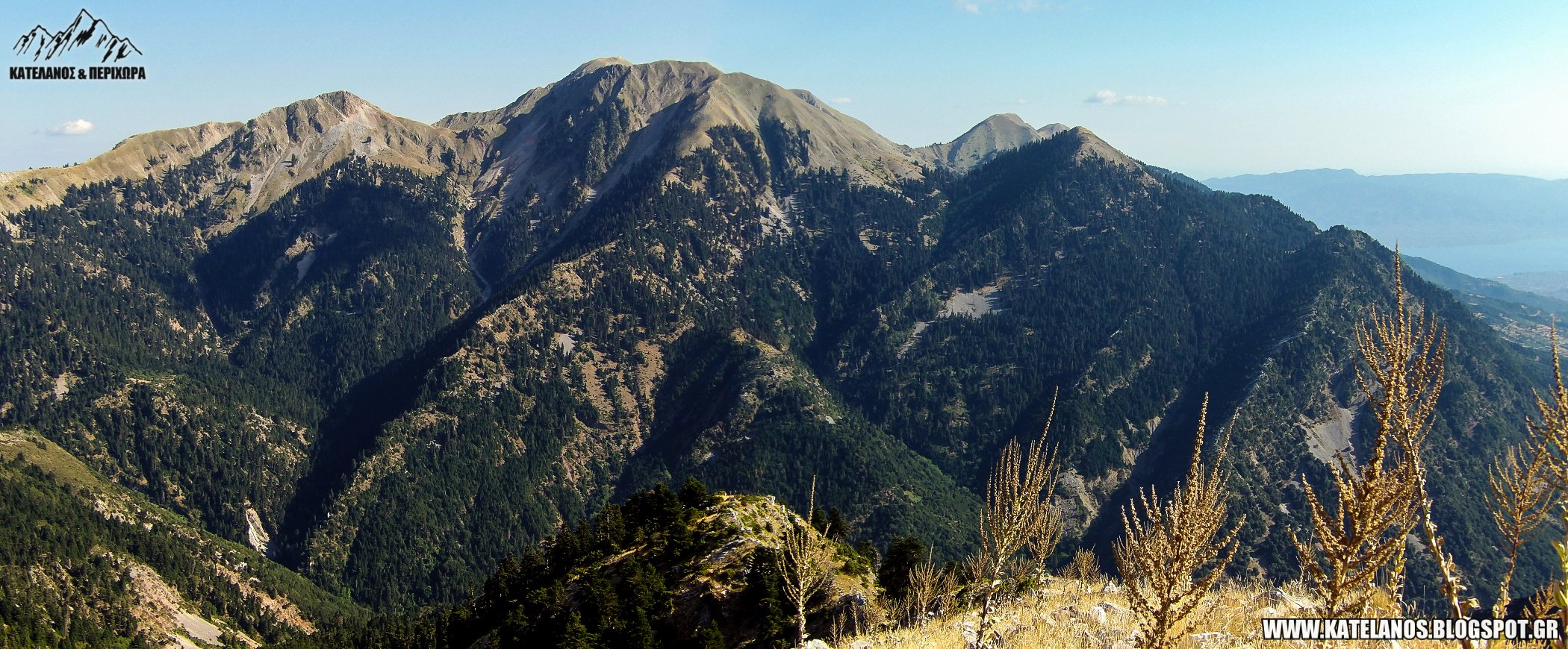 βουνοκορφες παναιτωλικου ορους βουνα αιτωλοακαρνανιας