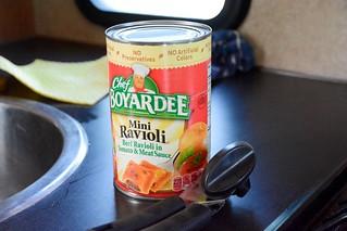 Lata de raviolis (Alaska en autocaravana)