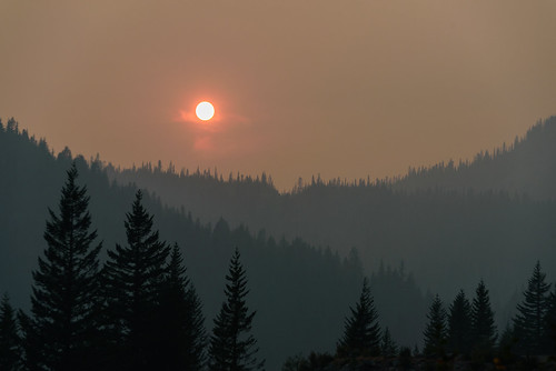 Red Sun at Rainier | by matthucke