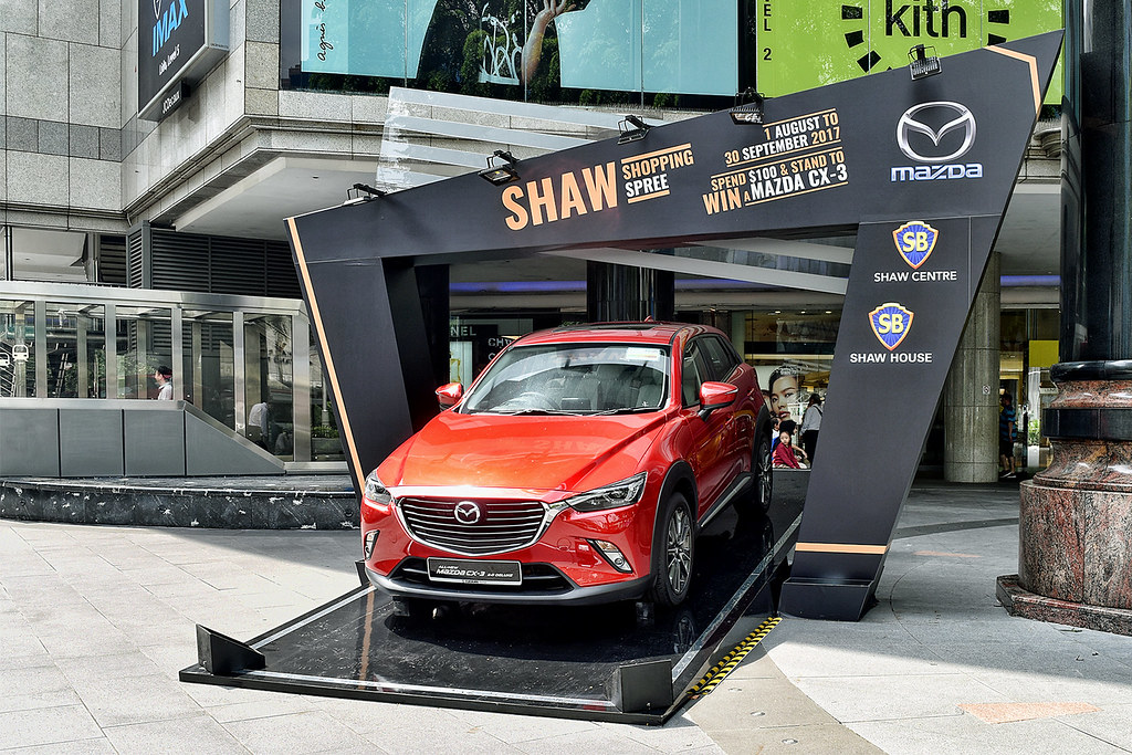 Image result for shopping mall vehicle display exterior
