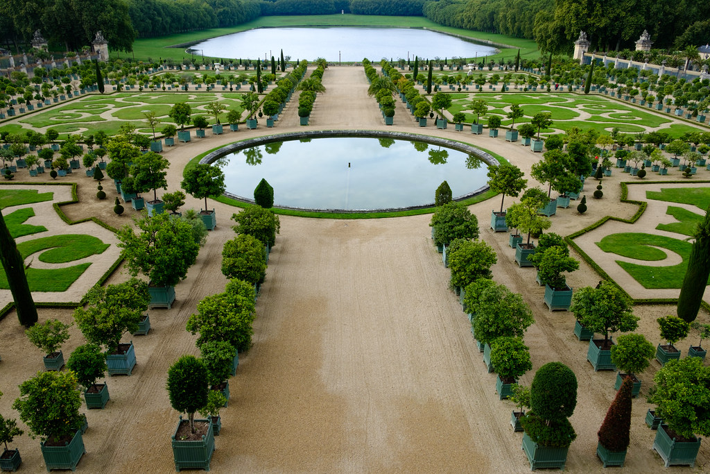 Le Jardin Du Chateau De Versailles Olli Ronimus Flickr