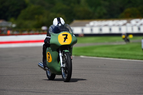 Jeremy McWilliams - Duncan Fitchett, Norton Manx 500, Barry Sheene Memorial Trophy, Goodwood Revival 2017
