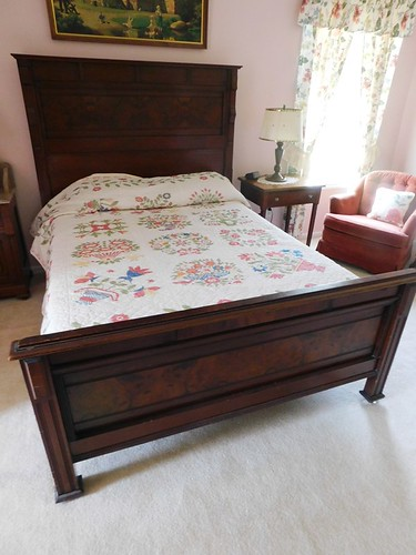 Victorian burl walnut bedroom set | by thornhill3
