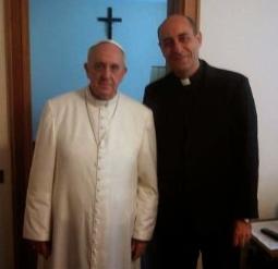 El Papa y Mons. Fernández