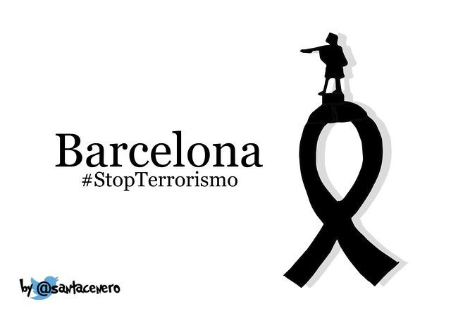 by mike catalonian Barcelona, 8.17.2017. Stop Terrorism! | by mike  catalonian