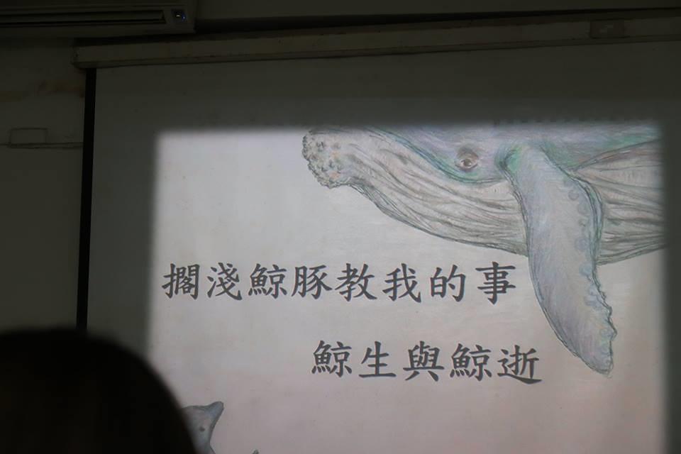 「擱淺鯨豚教我的事」講座。洪佳如攝