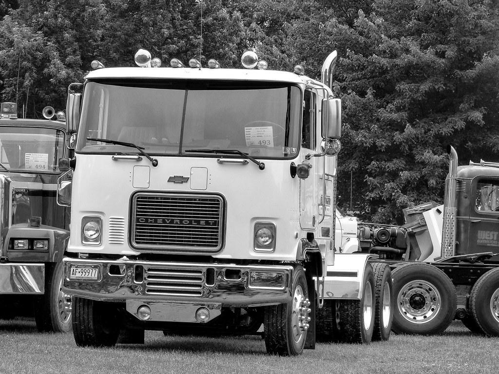 Chevy Semi Truck >> Tom Eddinger's 1976 Chevrolet Titan COE Semi Tractor | Flickr