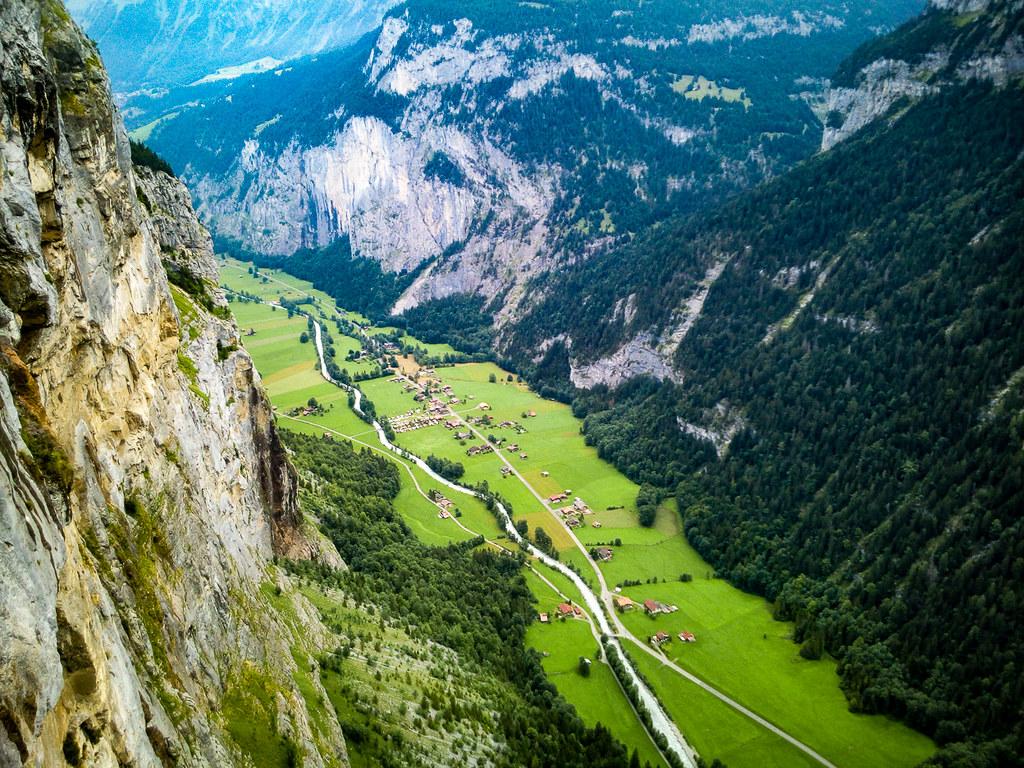 Klettersteig Mürren : Klettersteig mürren lauterbrunnen chrummi flickr