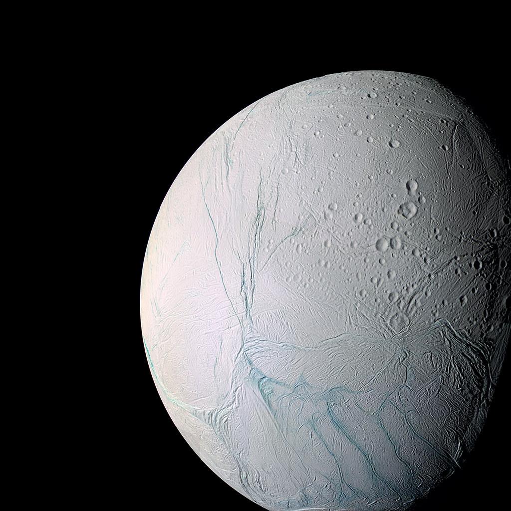 Enceladus Ocean Moon In Honor Of Cassini S Grand Finale