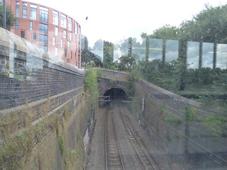 Sutton Coldfield Station - view of the tunnel towards Four Oaks | by ell brown