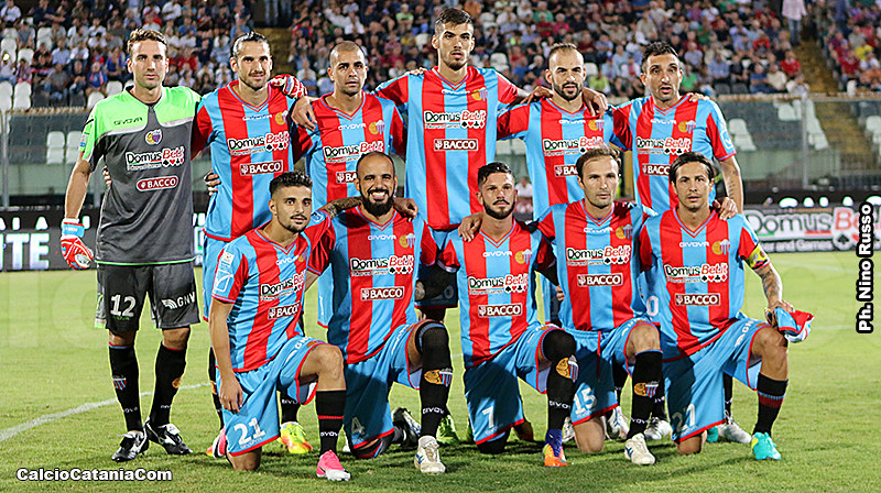 L'undici rossazzurro che ha battuto il Lecce lo scorso 9 settembre. Domani è richiesta la stessa cattiveria di allora, quando i rossazzurri vinsero 3-0
