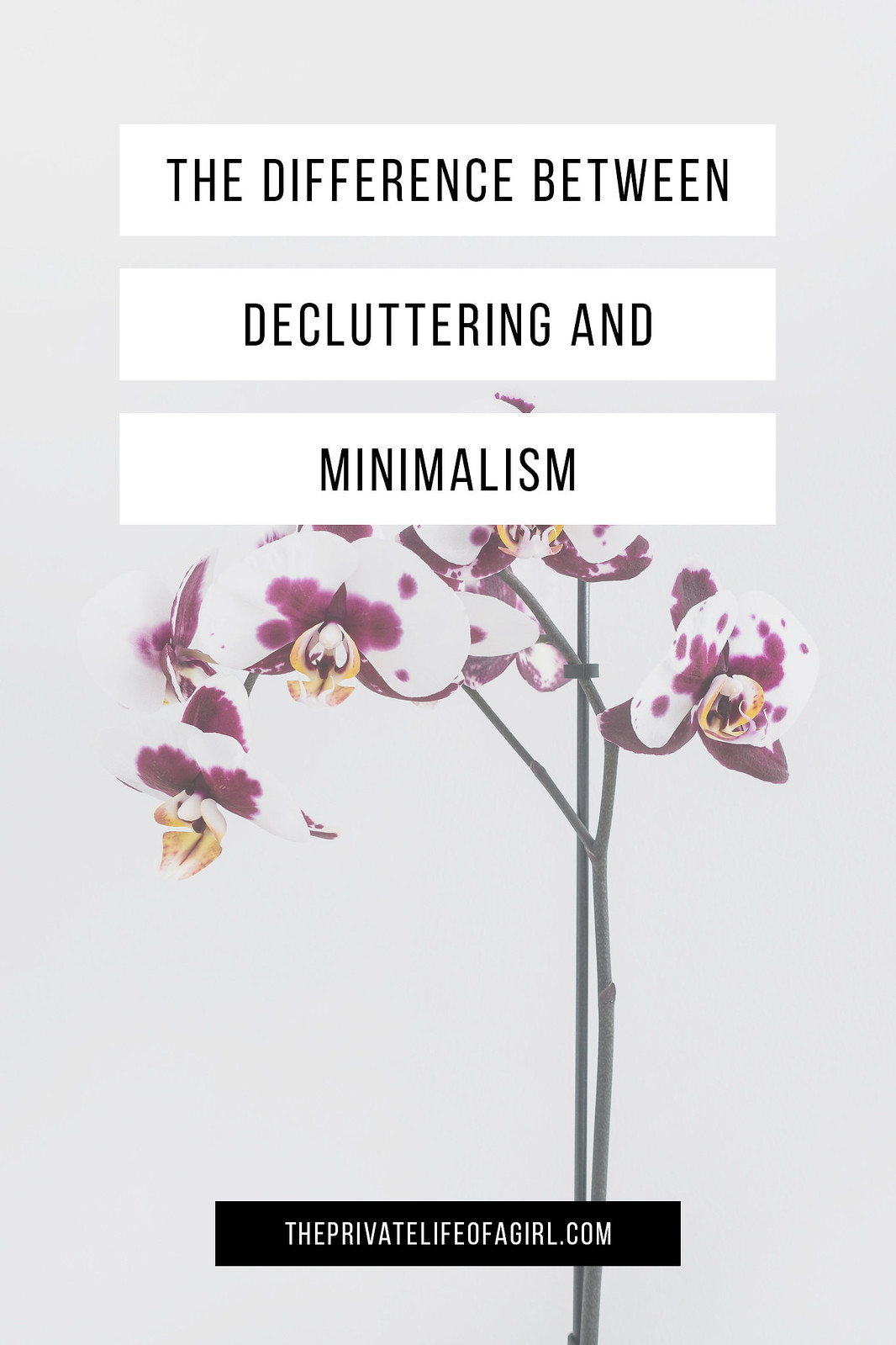 The Difference Between Minimalism and Decluttering