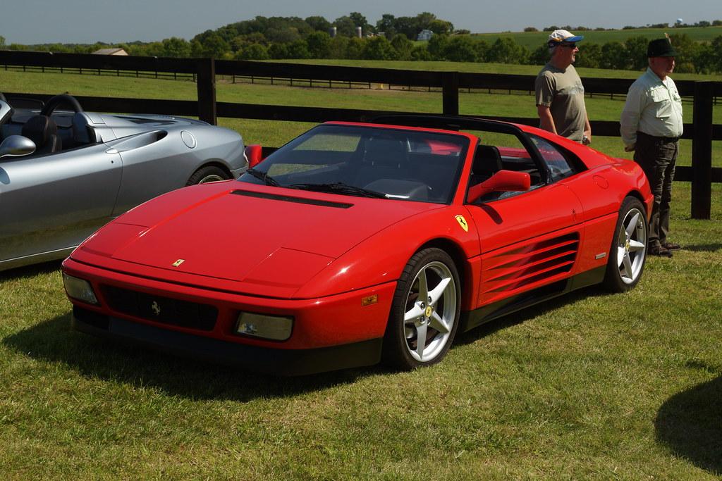 1989 Ferrari 348 Ts 2017 Freedom Farm Polo Fundraiser And Flickr