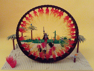 Dark Portal - LEGO Fantasy Creation | by Allemov