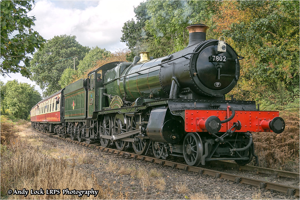 """... GWR 7800 Class: 7802 """"Bradley Manor"""" 
