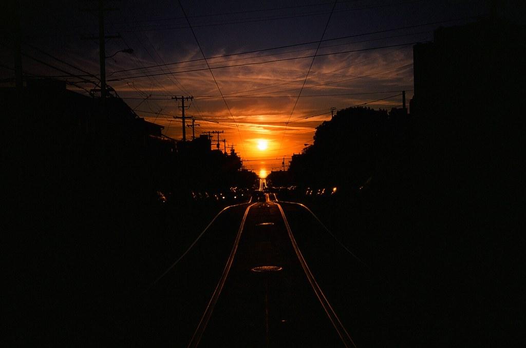 Early Autumn Sunset | by Robert Ogilvie