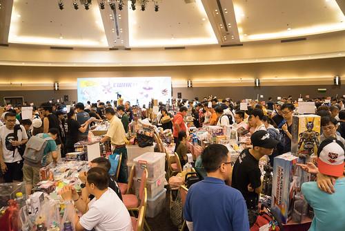 今次新增的玩具收藏+販售展
