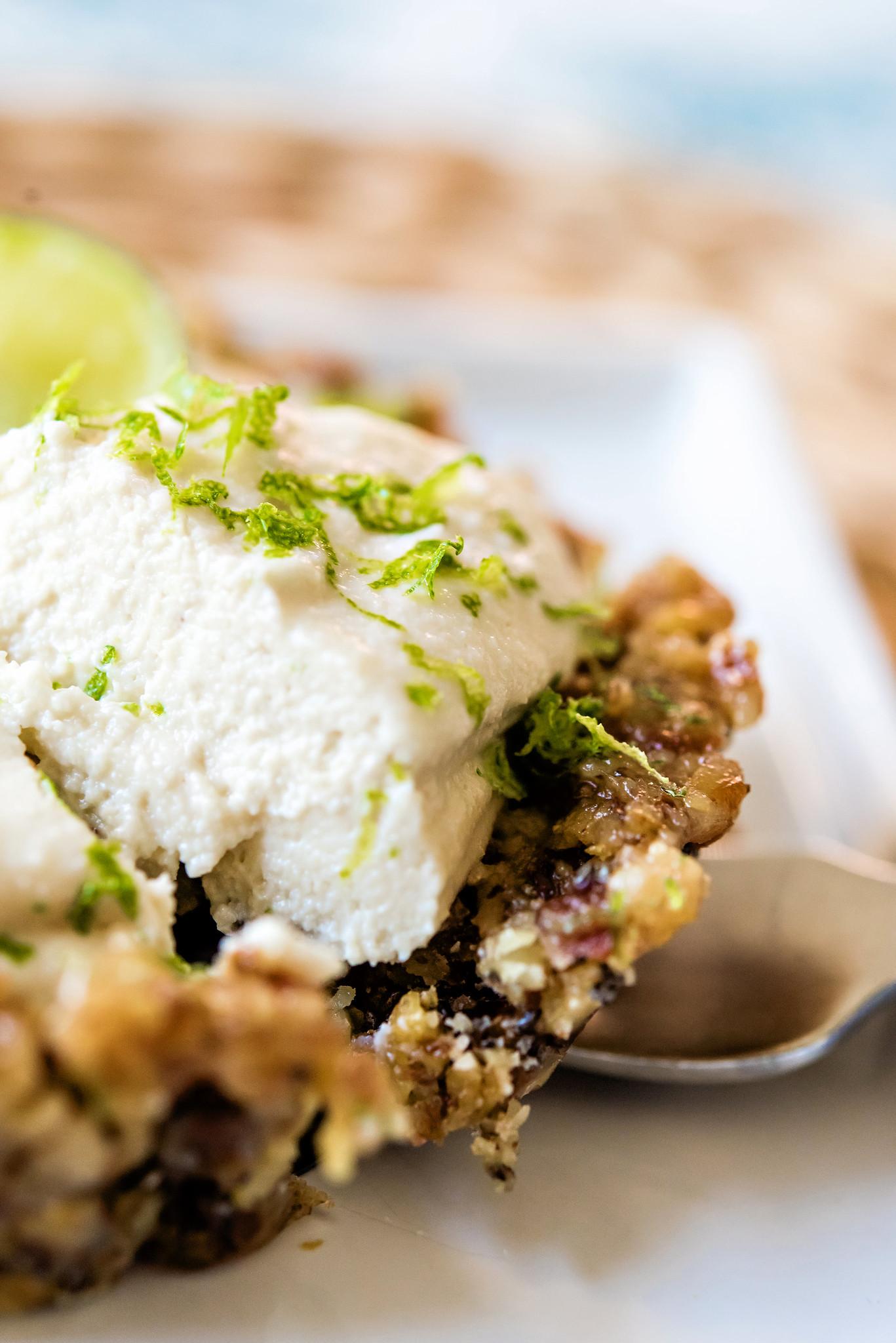 gluten free vegan key lime tarts
