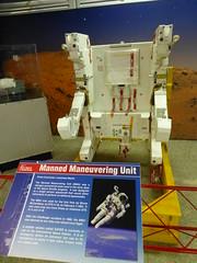 An astronauts jetpak