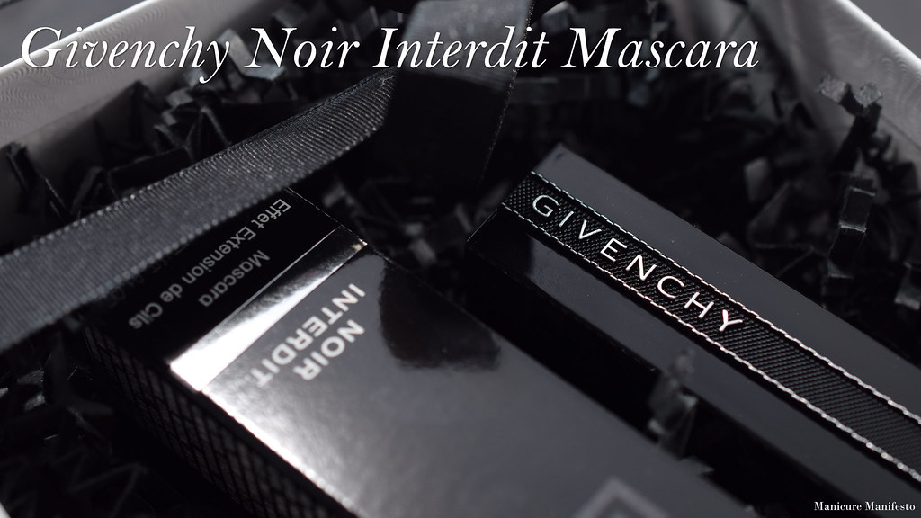 Givenchy noir interdit review