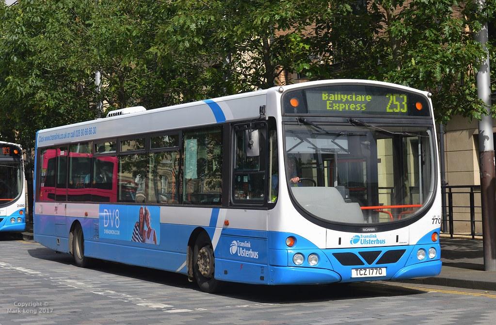 Solar City Jobs >> Translink Ulsterbus 770 | Translink Ulsterbus (Larne ...