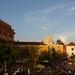 Anoitecer em Cartagena