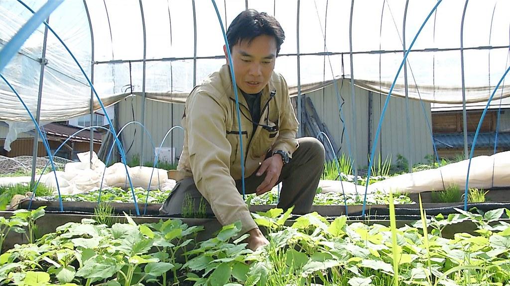 922-2-11 黑木靖一本來是IBM的資深員工,2011年辭去工作專心務農,同時投入地方發電所工作。