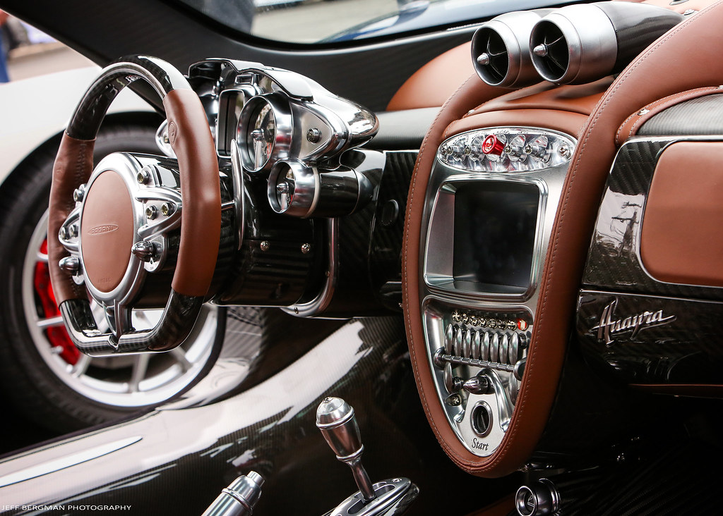 Pagani Huayra Interior Caffeine Carburetors New Canaan Flickr