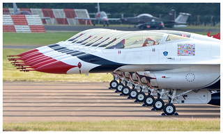 USAF Thunderbirds lined up & ready... | by Ciaranchef's photography.