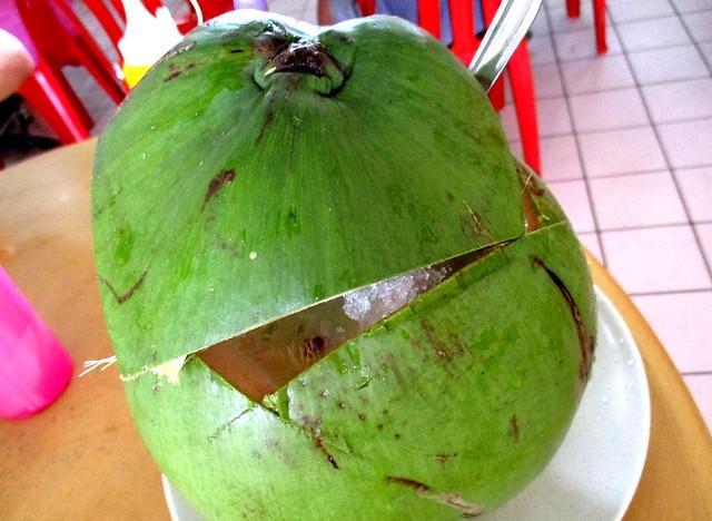 Thomson Corner chendol coconut special