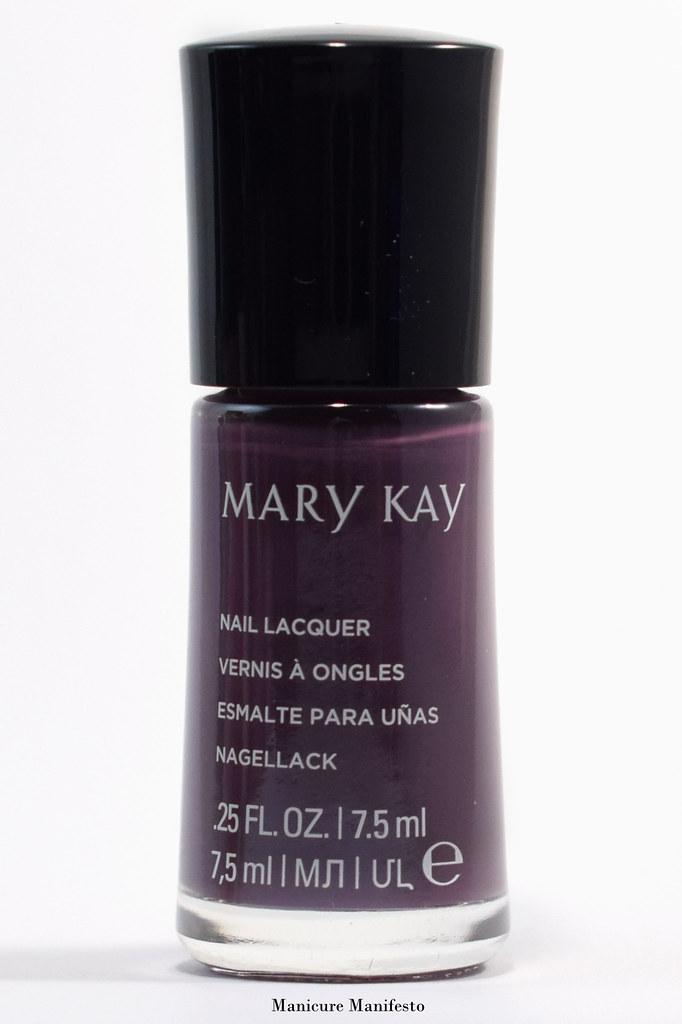 Mary Kay Violet Silk nail polish