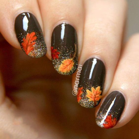 @narmai Amazing nail designs to try this fall