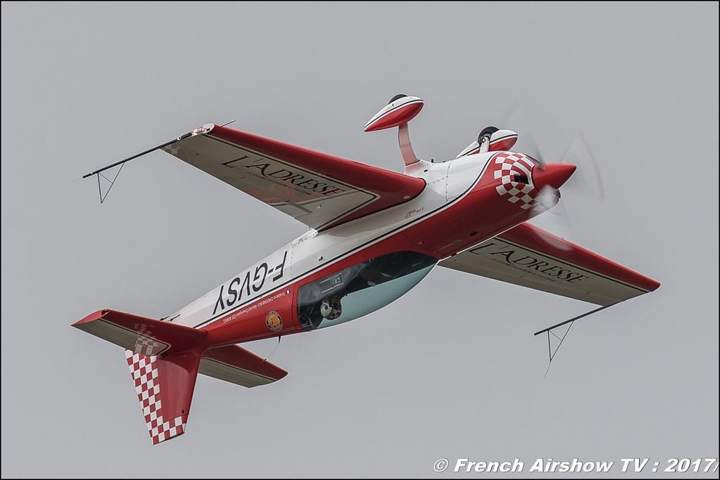 Extra 300LP - F-GVSY l'Adresse , Meeting aérien contre le cancer , Free Flight World Masters Rodez-Aveyron , FFWM2017 , Meeting Aerien 2017