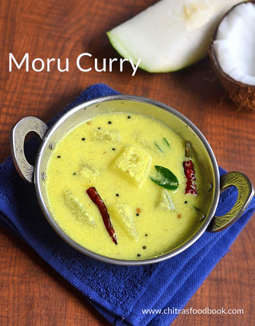 Moru curry recipe with kumbalanga