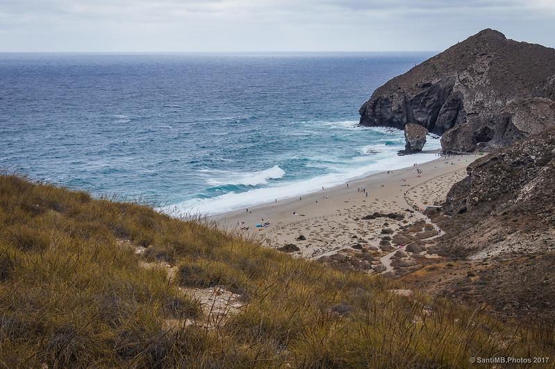 Playa de los Muertos desde cerca del mirador