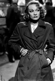 Trench Storia Marlene Dietrich
