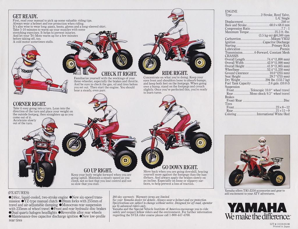 ... 1986 Yamaha Tri-Z250 Page 4 | by Tony Blazier