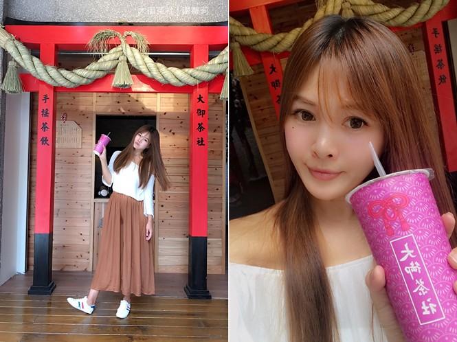 36659663652 9d12669673 b - 熱血採訪 | 大御茶社。一中街最新IG超夯話題,日本神社 大紅鳥居空降,還有超美的浪漫櫻花造景可以拍照呦!