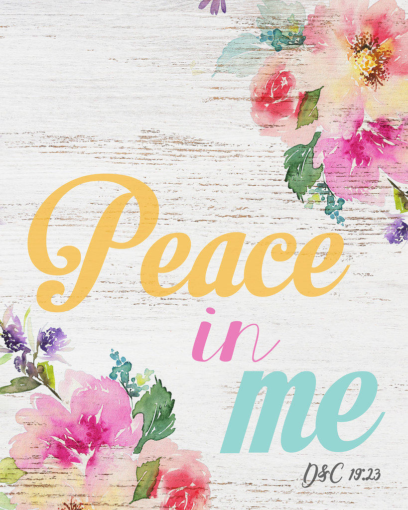 what is peace to me Peace i leave with you my peace i give you i do not give to you as the world gives do not let your hearts be troubled and do not be afraid.