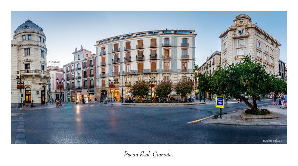 Puerta real granada en poca musulmana por este lugar pa flickr - Parking plaza puerta real en granada ...