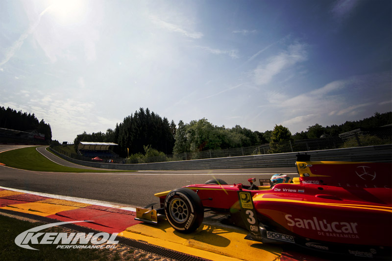 New podium for KENNOL at Spa in FIA Formula 2!