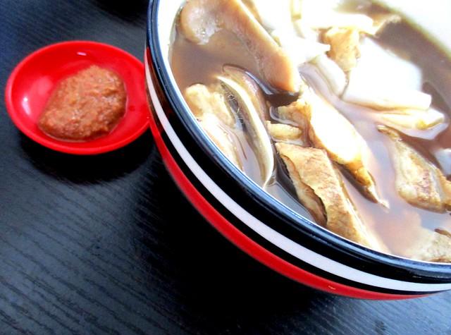 Yong Garden kueh chap & sambal belacan