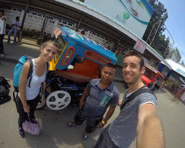 Con nuestro guía Rudi en Bohol