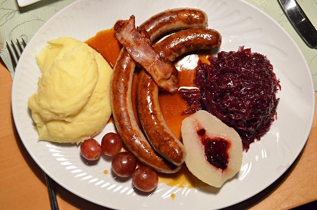 Wild boar sausage, Freiburg